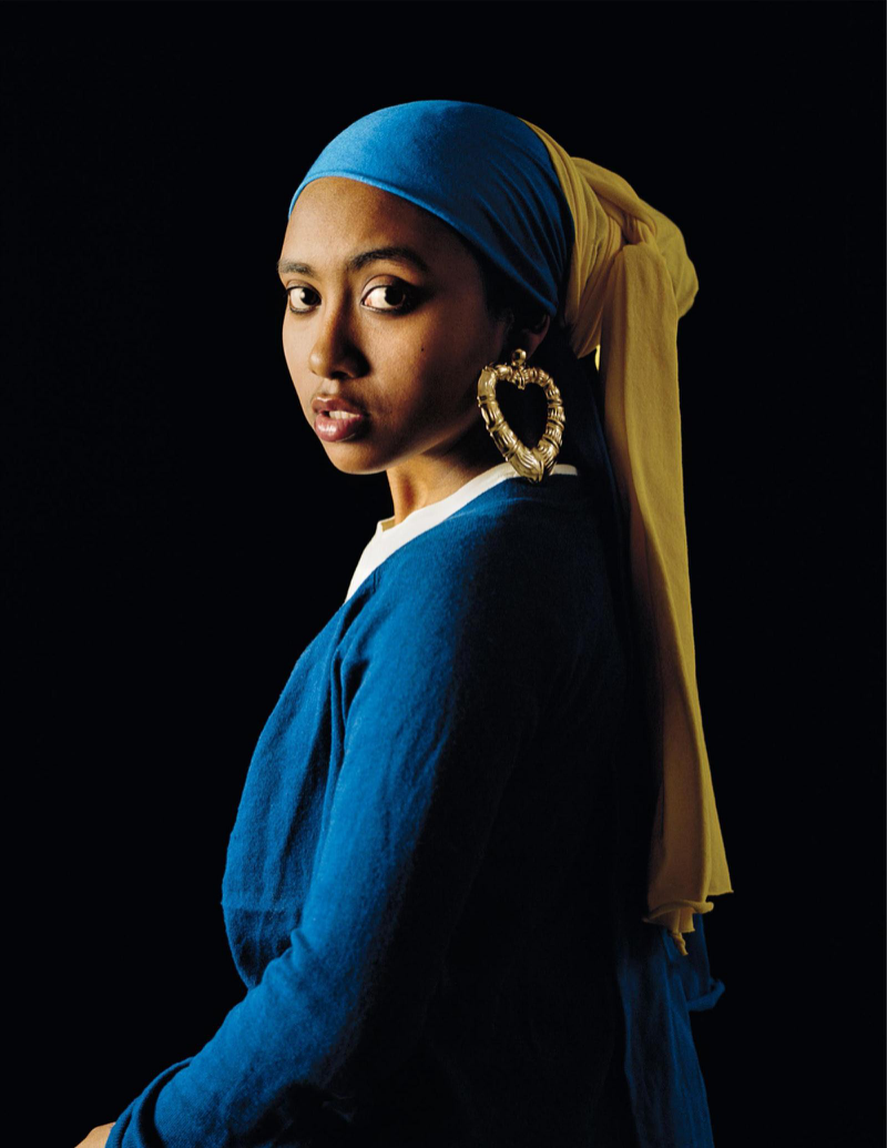 no 34 black lives matter the transformative power of pictures girl a pearl earring by awol erizku
