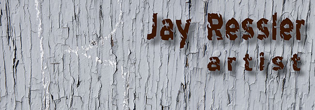 Jay Ressler cracked paint Web Logo